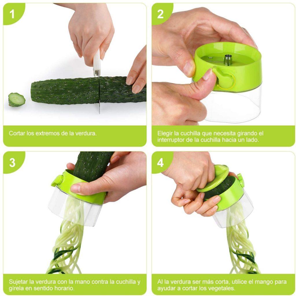 rallador de verduras electrico del lidl
